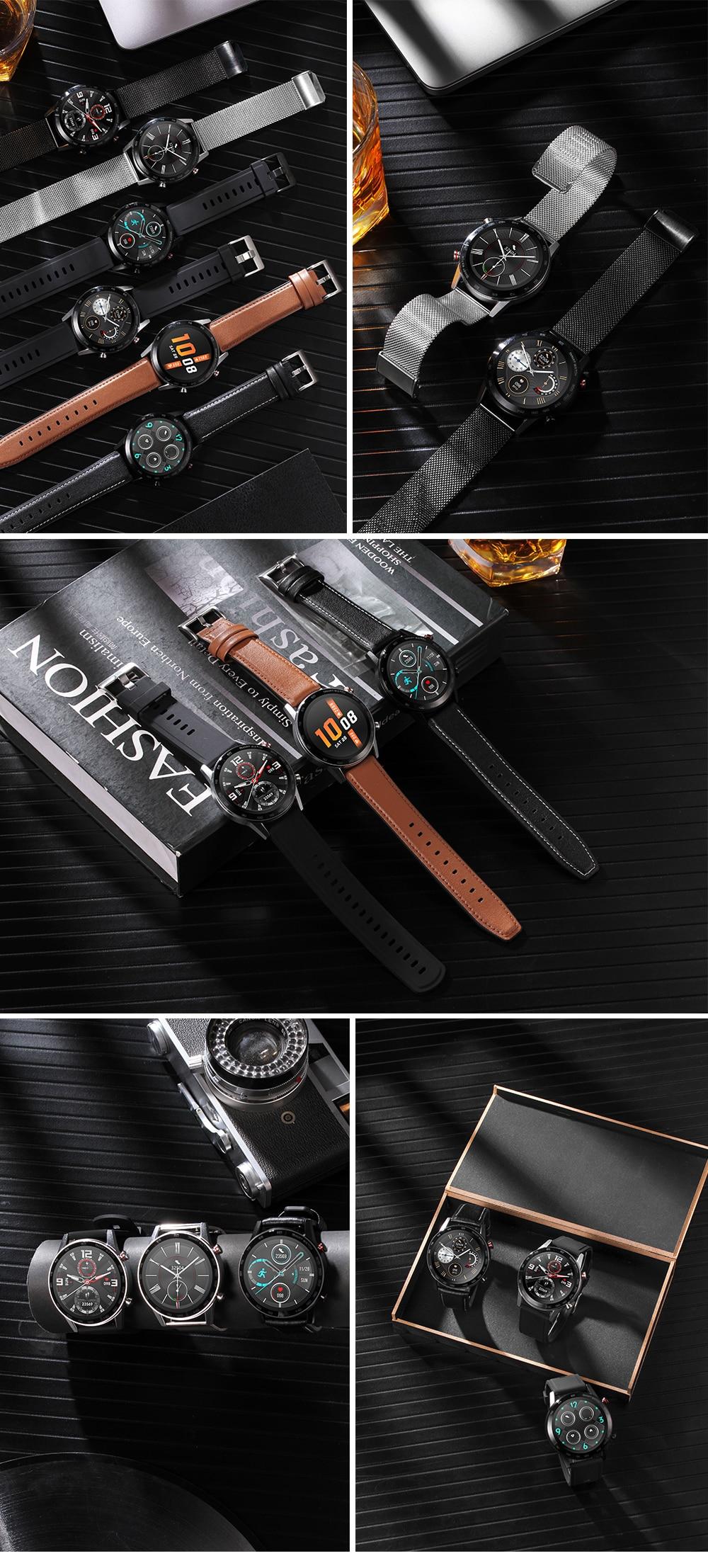 H334b135c5ea64362823631d9176e58fbG 2021 SANLEPUS ECG Smart Watch Dial Call Smartwatch Men Sport Fitness Bracelet Clock Watches For Android Apple Xiaomi