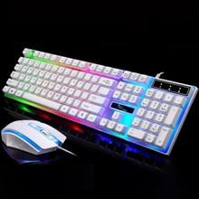 Механическая клавиатура с 104 клавишами, синий переключатель, игровые клавиатуры для планшетного компьютера, наклейка для выдавливания