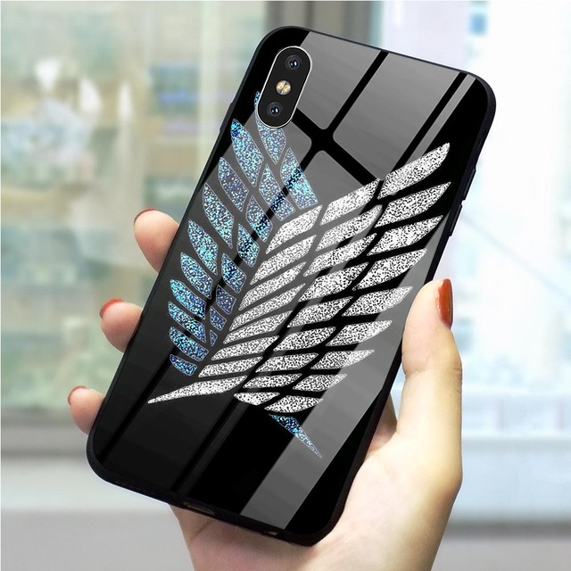 ATTACK ON TITAN IPHONE CASE (12 VARIAN)