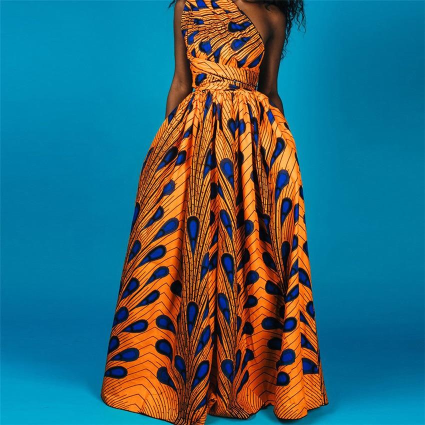Вечерние платья без рукавов в африканском стиле с традиционным принтом Дашики бзин, модные платья для женщин, новинка 2020|Африканская одежда|   | АлиЭкспресс