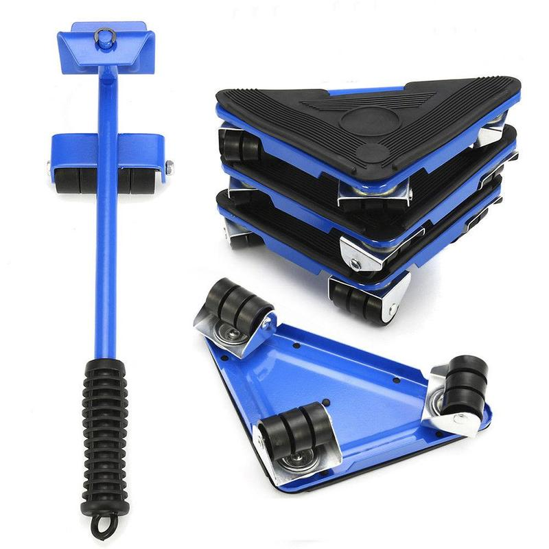 Furniture                   Tool Iron    Mover  Triangle                Wheels    5PC     Lifter        Lbs Kit Sliders    880   Moves    Portable  Quality       Mover