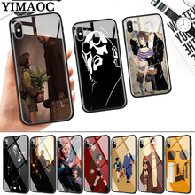 Leon Matilda Natalie Movie Glass Phone Case for Apple iPhone 11 Pro XR X XS Max 6 6S 7 8 Plus 5 5S SE