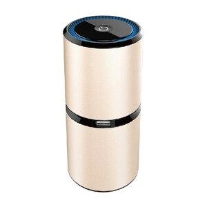 Purificador de ar do carro mini portátil íon negativo purificadores de ar com dupla usb night light anion ambientador para casa carro|Purificadores de ar| |  -