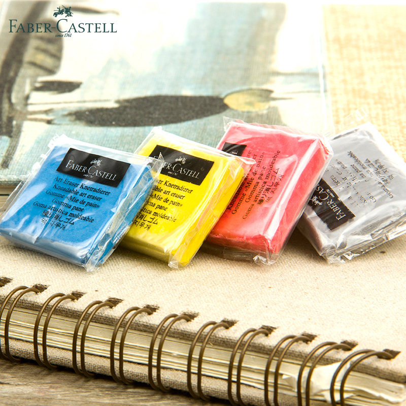 Faber-Castell Plasticity Rubber Soft Eraser Wipe Highlight Kneaded Rubber For Art Pianting Design Sketch Plasticine Stationery