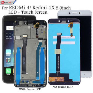 "Image 1 - Display Voor Xiaomi Redmi 4X 4 5.0 ""Lcd Touch Screen Vervanging Getest Smartphone Lcd scherm Touch Digitizer Vergadering"