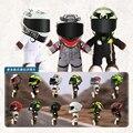 28 см Новый мотоциклетный шлем гоночный Медведь кукла мягкие животные игрушки Носите яд кукла в шлеме мотоциклетная кукла украшение подарок