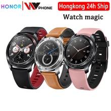 Huawei relógio mágico honra relógio mágico smartwatch freqüência cardíaca à prova dwaterproof água rastreador sono rastreador de trabalho