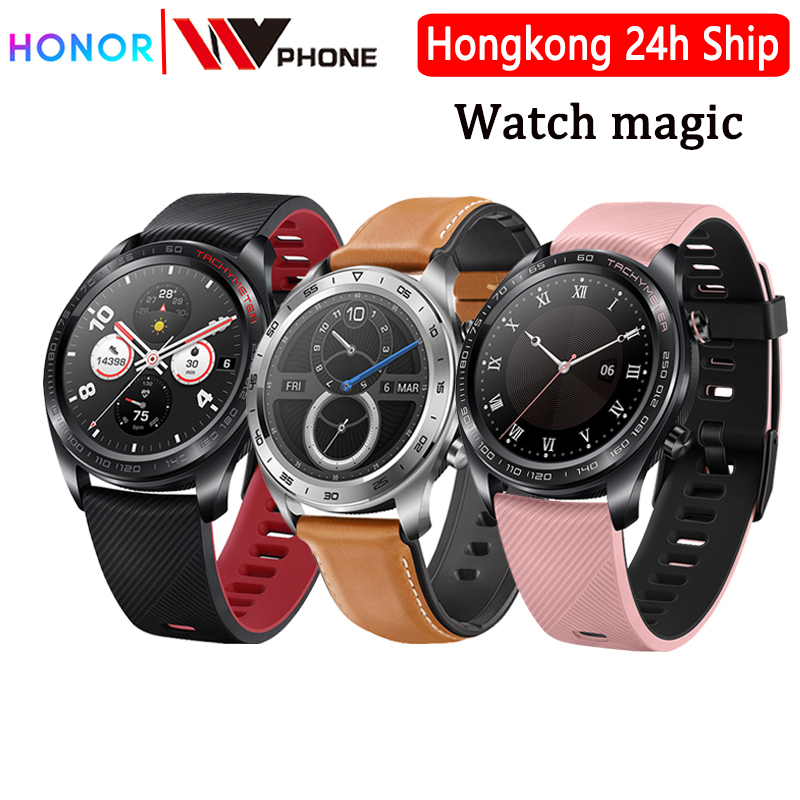 Huawei Watch Magic Honor Watch Magic SmartWatch Heart Rate WaterProof Tracker Sleep Tracker Working