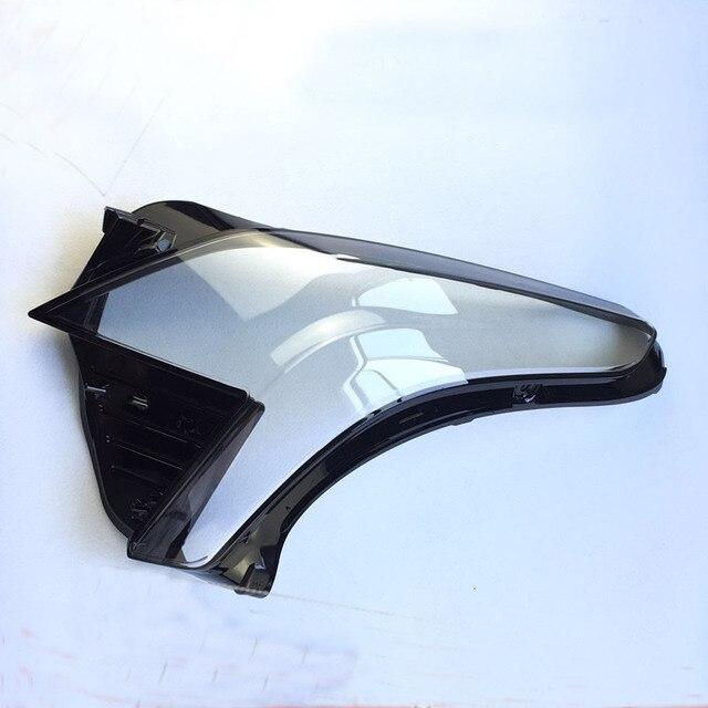 Coque de phare en plastique | Pour Cadillac XT5 CTS XTS SRX SLS ATS XT5 2018 phares, couvercle de verre, abat-jour en plastique