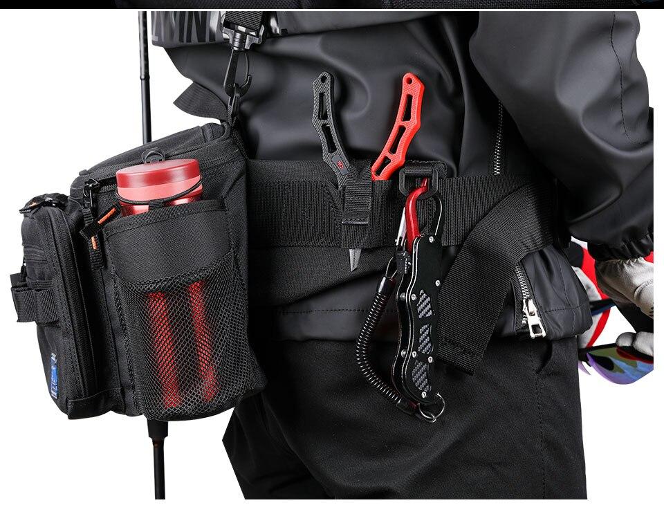saco quadril equipamento de pesca pacote sacos de ombro ao ar livre