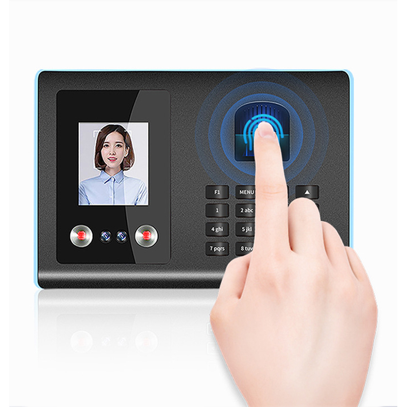 Af01 Facial Face English Sign-in Fingerprint Recognition Attendance System Machine Equipment Employees Go To Work Flash Drive
