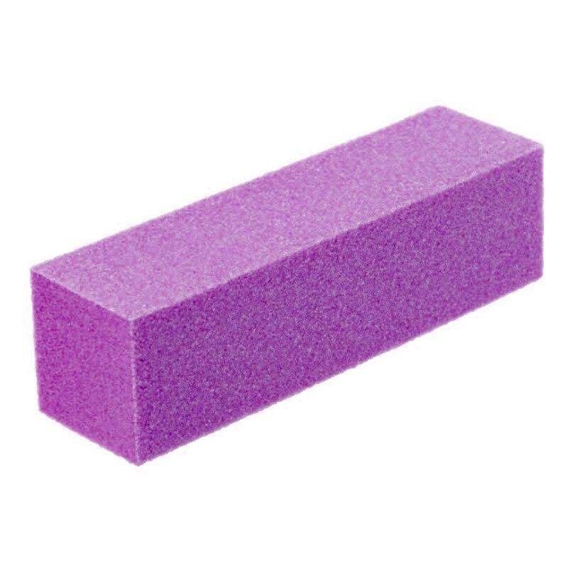 7Pcs/set Pink Form Nail Buffers File UV Gel White Nail File Buffer Block Polish Manicure Pedicure Sanding Nail Art Tool Buff New
