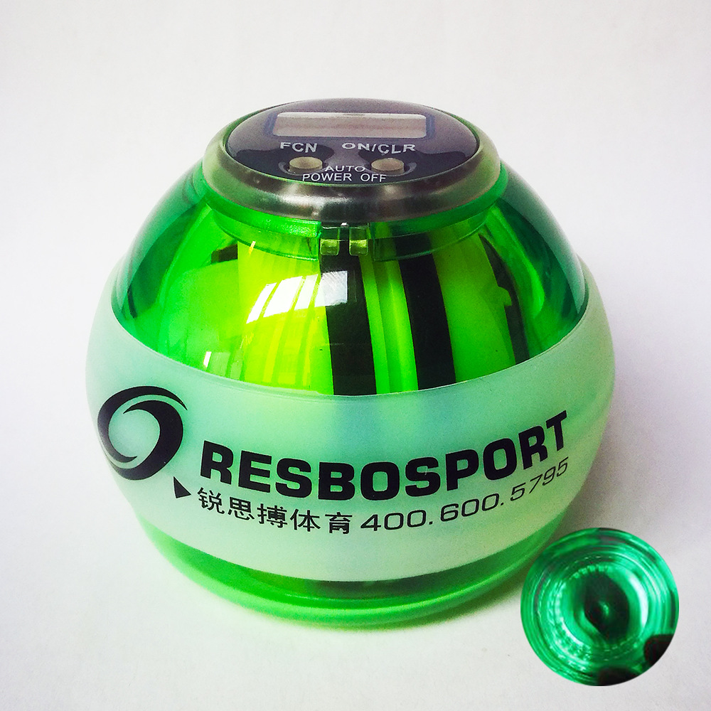 Resbo New Style Self-Starting Wrist Ball Spinner Jian Arm Self-Generating Lamp Count Relaxation Good Tool