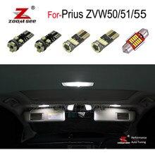 Kit d'ampoule de porte pour Toyota, phare arrière de secours LED + miroir de dôme intérieur, pour Prius ZVW50 ZVW51 ZVW55 (2016 +)