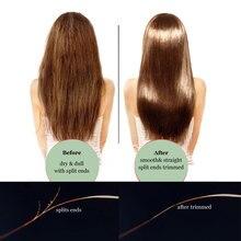 Rachado aparador de cabelo usb recarregável corte de cabelo alisador clipper extremidades rachadas cortador ramos fim divisão aparador de cabelo