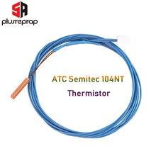 Atc semitec 104gt-2 104nt-4-16c054rt ou ntc 100k 3950 cartucho de termistor 280 cartridges para v6 e vulcão pt100 cartuchos de bloco de calor