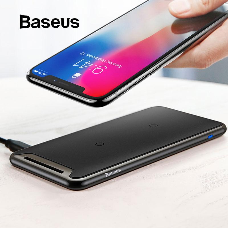 Baseus Triplo Carregador Sem Fio Da Bobina Para o iphone X Xs Max XR Rápido Suporte De Carregamento Sem Fio Do Carregador Do Telefone Para Samsung Note9 s9 S8