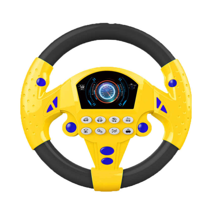 Electric Toy Musical Instruments for Kids Baby Steering Wheel Musical Developing Educational Toys