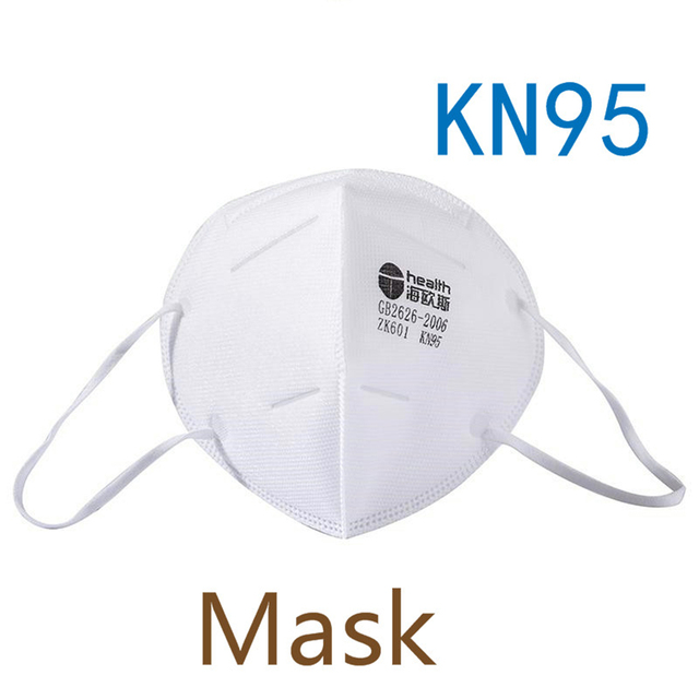 High Quality KN95, N95 Mask Protective Mouth Face Masks 95% Filtration Anti-Dust Against Droplet flu Free Shipping DHL In stock