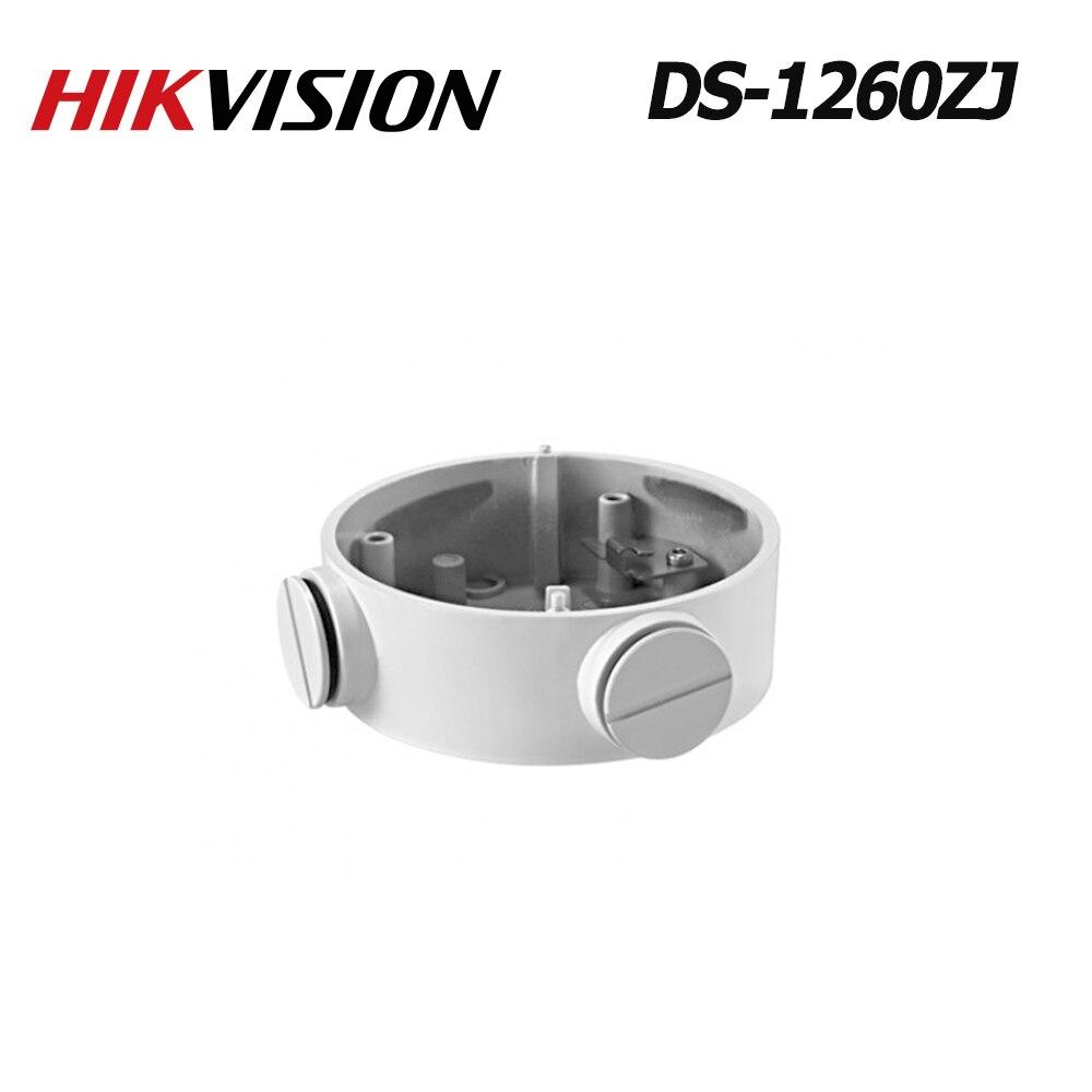 Boîte de jonction blanche d'alliage d'aluminium de Hikvision DS-1260ZJ pour l'oem de caméra de télévision en circuit fermé d'ip de DS-2CD2632F-IS sans logo