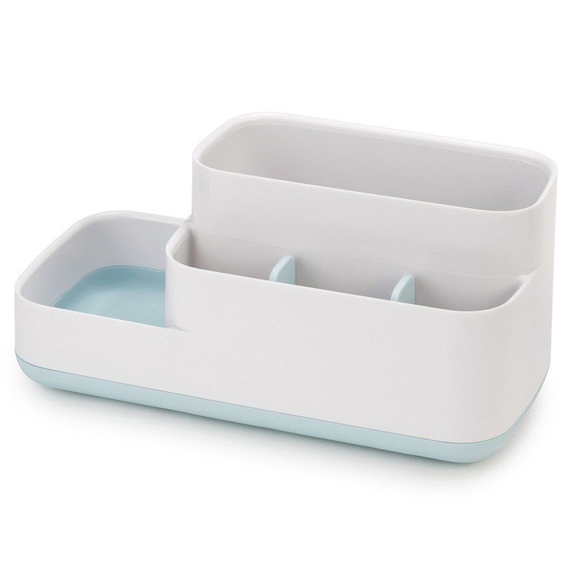 Easy Store Bathroom Caddy Large Toothbrush Holder Bathroom Toothbrush Storage Rack Toothbrush Caddy Stands Hanger Bathroom image