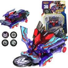 Крики дикий взрыв переворачивает трансформации наклейки робот автомобиль Аниме фигурки Охотник захвата чип вафли дети мальчики девочки игрушки