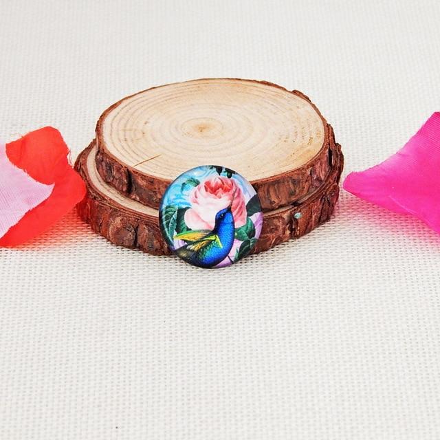 Купить 10 шт круглые стеклянные ожерелья кабошоны с птицами картинки цена