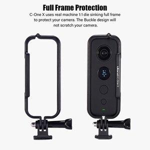 Image 2 - Cadre de étui de protection en plastique Ulanzi pour Insta 360 une X Cage de boîtier avec capuchon dobjectif de caméra