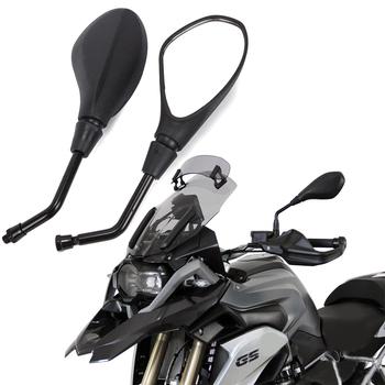 Motocykl lusterko wsteczne boczne dla BMW R1250GS R1200GS F850GS R dziewięć T R 1200 GS e-rower zgodnie z ruchem wskazówek zegara wypukłe akcesoria tanie i dobre opinie MYiAdv 0inch For Universal Naked Bikes Street Scooter Bikes Mirror Lusterka boczne i akcesoria 0 5kg High Quality ABS Steel Stem Glass Mirrors