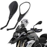 Motorrad Rückspiegel seite Spiegel Für BMW R1250GS R1200GS F850GS R NEUN T R 1200 GS E-Fahrrad Im Uhrzeigersinn Konvexen zubehör
