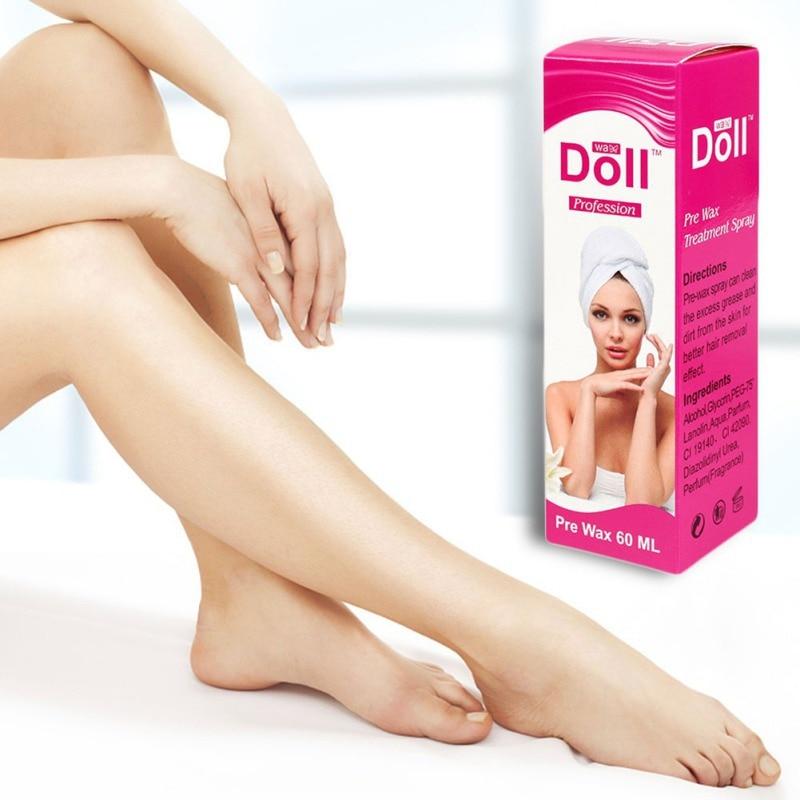 New Brand60ml Pre Wax Treatment Spray After Wax Treatment Oil Moisturizing Repair Skin Hair Removal Treatment1 Pc New