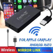 Carlinkit Carplay ключ радио беспроводной для Apple Carplay Adaptador USB Android авто ключ для автомобиля Iphone Автомобильное Зеркало Ссылка