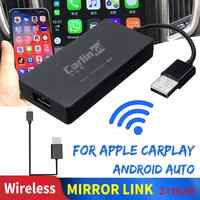 Carlinkit Carplay Dongle inalámbrico de Radio para Apple Carplay Adaptador USB Android Auto Dongle coche jugar coche Iphone enlace espejo