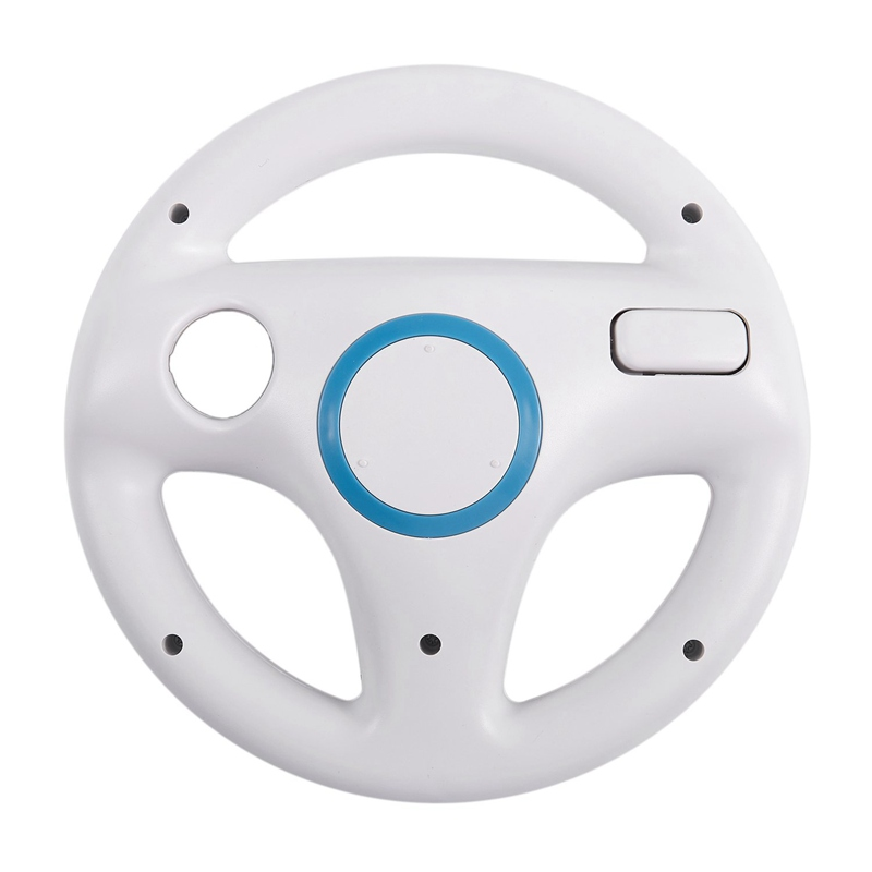 New ROUND STEERING WHEEL FOR NINTENDO Wii MARIO KART GAME