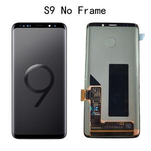 Image 2 - オリジナル amoled 交換 S9 S9Plus lcd ディスプレイタッチスクリーンデジタイザ G960 G965 ディスプレイ