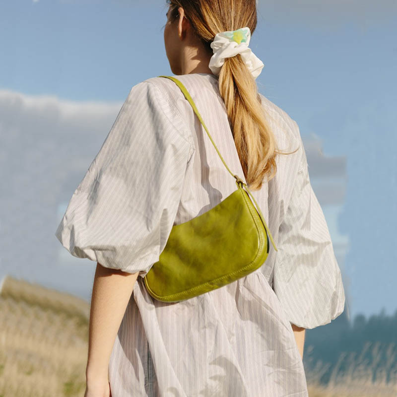 Small Shoulder Bag For Women 2019 Vintage Leather Handbag Fashion Female Clutch Bolsa Feminina Retro Female Subaxillary Bags