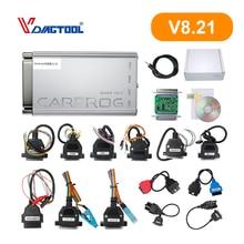 Carprog V8.21 Car Prog ECU Chip Tunning Car Repair Tool Carprog Programmer With All 21 Adapters Car Diagnostic Tool