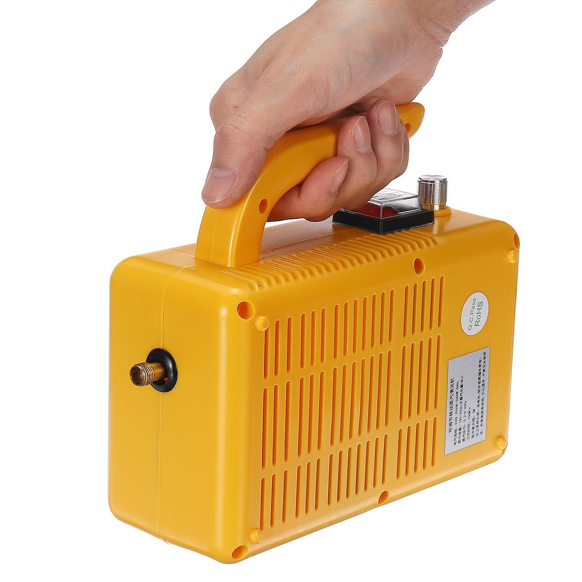 Ручной пароочиститель 220 В 2600 Вт электрический переносной паровой очиститель машина бытовая кухонная очистка насосная стерилизация