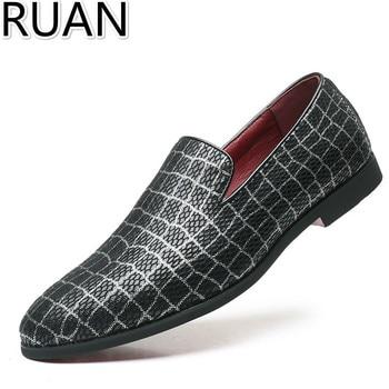 Mens Dress Shoes Loafers Gents Shoes Mens Party Shoes  Big Size Slip On Shoes Men