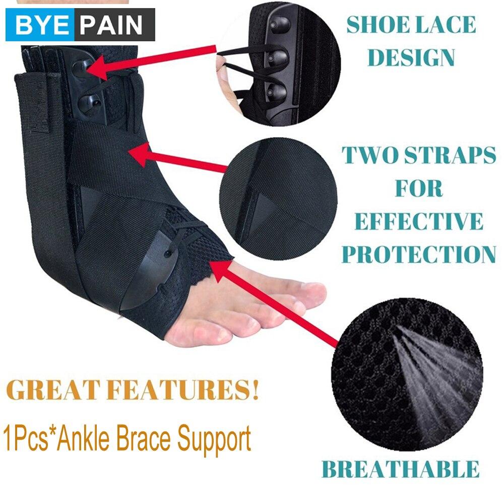 1 шт. поддерживающая компрессионная повязка на лодыжку для спортивных травм-дышащая повязка на лодыжку для облегчения боли, растяжения, вос...