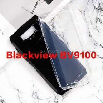 Перейти на Алиэкспресс и купить Для Blackview BV9100 чехол прозрачный ультратонкий прозрачный мягкий ТПУ чехол для телефона чехол задняя крышка для Blackview BV9100 Pro Couqe Funda
