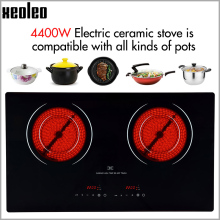 XEOLEO Dual Cooker Electric Ceramic Cooker 4400W household Radiation free Induction cooker with lock timing Induction