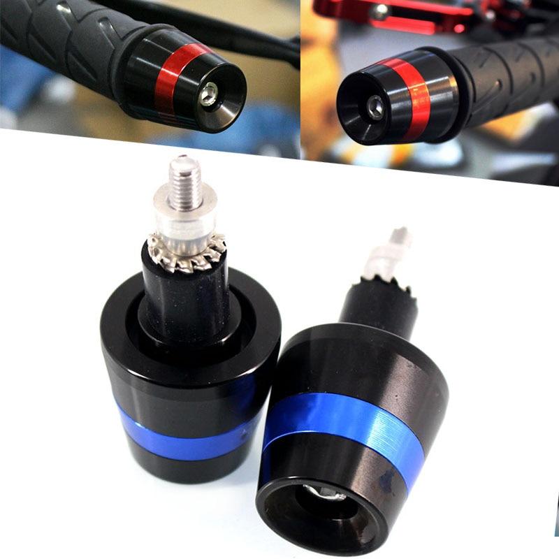 Blue 22mm Motorcycle Handlebar Plugs End Caps For Yamaha FZ-01 FZ-03 FZ-07 FZ-09 FZ-10 MT-01 MT-03 MT-07 MT-09 MT-10