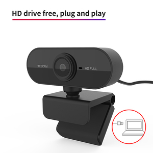 Full HD USB 2.0 Webcam 1080P Web Camera Built-in Stereo Microphone 1920 x 1080p USB Computer Webcam For PC Laptop