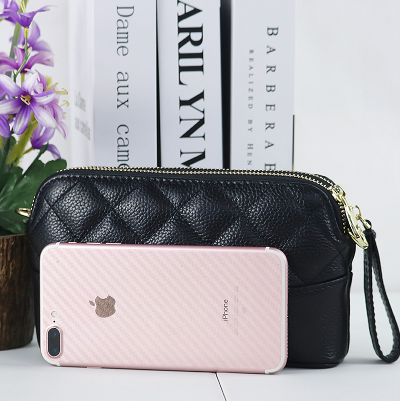 COMFORSKIN Cowhide Leather Women Messenger Bag Dropshipping сумки женские Fashion Soft Flap For Female Two Zipper Lining Bags