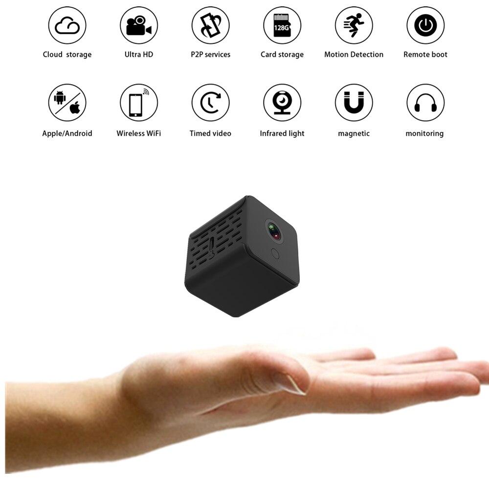 Mini Video Camera WIFI HD 1080P Sensor Nachtsicht Micro Home Security Camcorder Motion Phone APP DVR Dv Video Kleine Kamera Cam