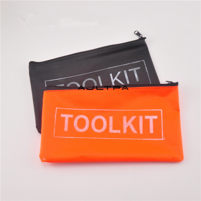 200Pcs Multifunctional Tool Kit Oxford Storage Zipper Tool Bag Organizer Holder Instrument Case For Metal Tool Pocket