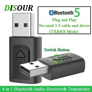 DISOUR USB Bluetooth 3.5mm Jac