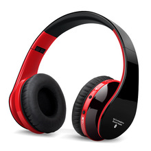 цена на Wireless Headphones Bluetooth Headset Stereo Foldable Sport Wireless Earphones with Microphone Gaming Headset Cordless Earpiece