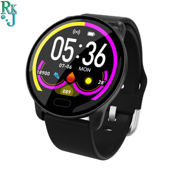 K9 Fashion Women Men Smart Watch Heart Rate and Blood Pressure Monitoring Information Reminder Music Multi-sport Wristband image